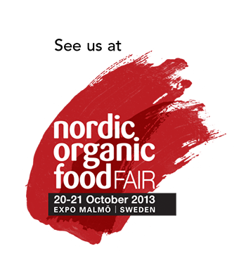 See us at nordic organic foodfair